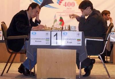 Seul résultat décisif Kasimdzhanov (2672) 1-0 Cheparinov (2696) de la 12ème ronde