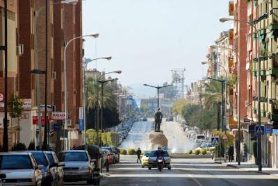 Un boulevard de Linares