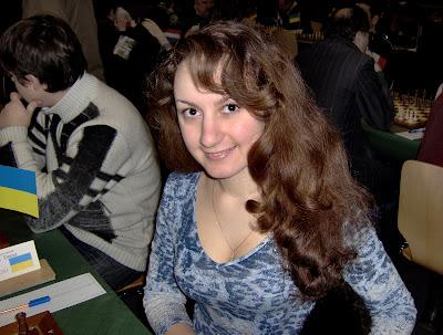 La jolie joueuse Diana Arutyunova (2261) - photo Véronique Houck