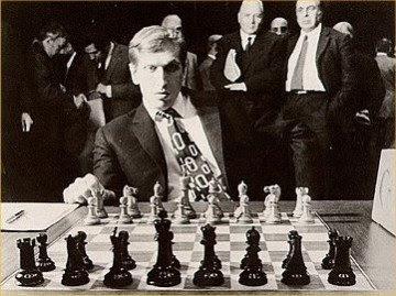 Bobby Fischer, le 12ème champion du monde d'échecs