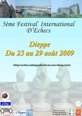 L'affiche officielle du tournoi de Dieppe
