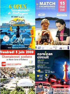 4 événements échiquéens en Corse