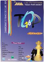 L'affiche officielle du Top 16