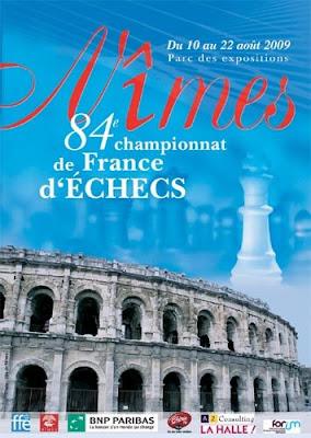 Le championnat de France d'échecs à Nîmes