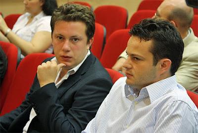 Arkadij Naiditsch et Etienne Bacrot éliminés - photo Boris Bukhman