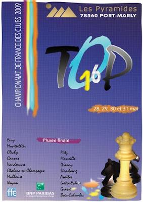 La phase finale du championnat de France d'échecs aux Pyramides de Port-Marly