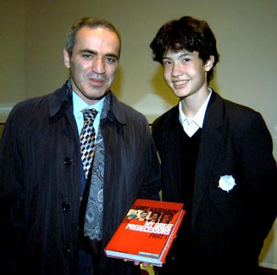 David Howell en 2003 et déjà sur le chemin de ses grands prédécesseurs !  _ photo ChessBase