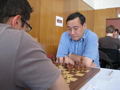 Le grand-maître d'échecs anglais Mark Hebden © Chess & Strategy