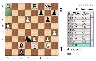 Partie 3 : Karpov se rebiffe et gagne