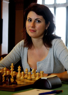 Adina Hamdouchi - photo ChessBase