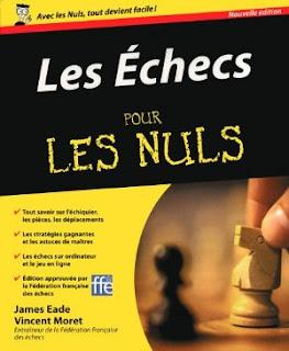 Echecs & Livres : Les échecs pour les Nuls