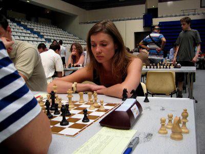 Inna Iasman du club d'échecs du Canal St-Martin © Chess & Strategy