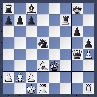 Echecs & Combinaison - Niveau Moyen - Les Blancs jouent et gagnent