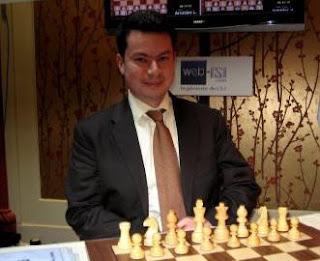 Joël Lautier lors du Trophée Armavia en 2009 © Chess & Strategy