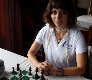 Echecs au Népal: Nino Maisuradze © Chess & Strategy