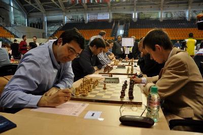 Echecs & Olympiades : Vladimir Kramnik face au tchèque David Navara, nulle ronde 6