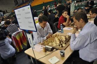Echecs & Olympiades : Sebastien Feller annule ronde 10 face à Efimenko