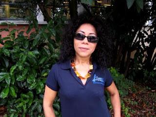 Alicia Duffaud, la jolie présidente de Tous aux Echecs © Chess & Strategy