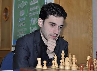 Le grand-maître d'échecs français Laurent Fressinet