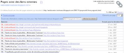 Firefox extension analyze add-on backlinks links