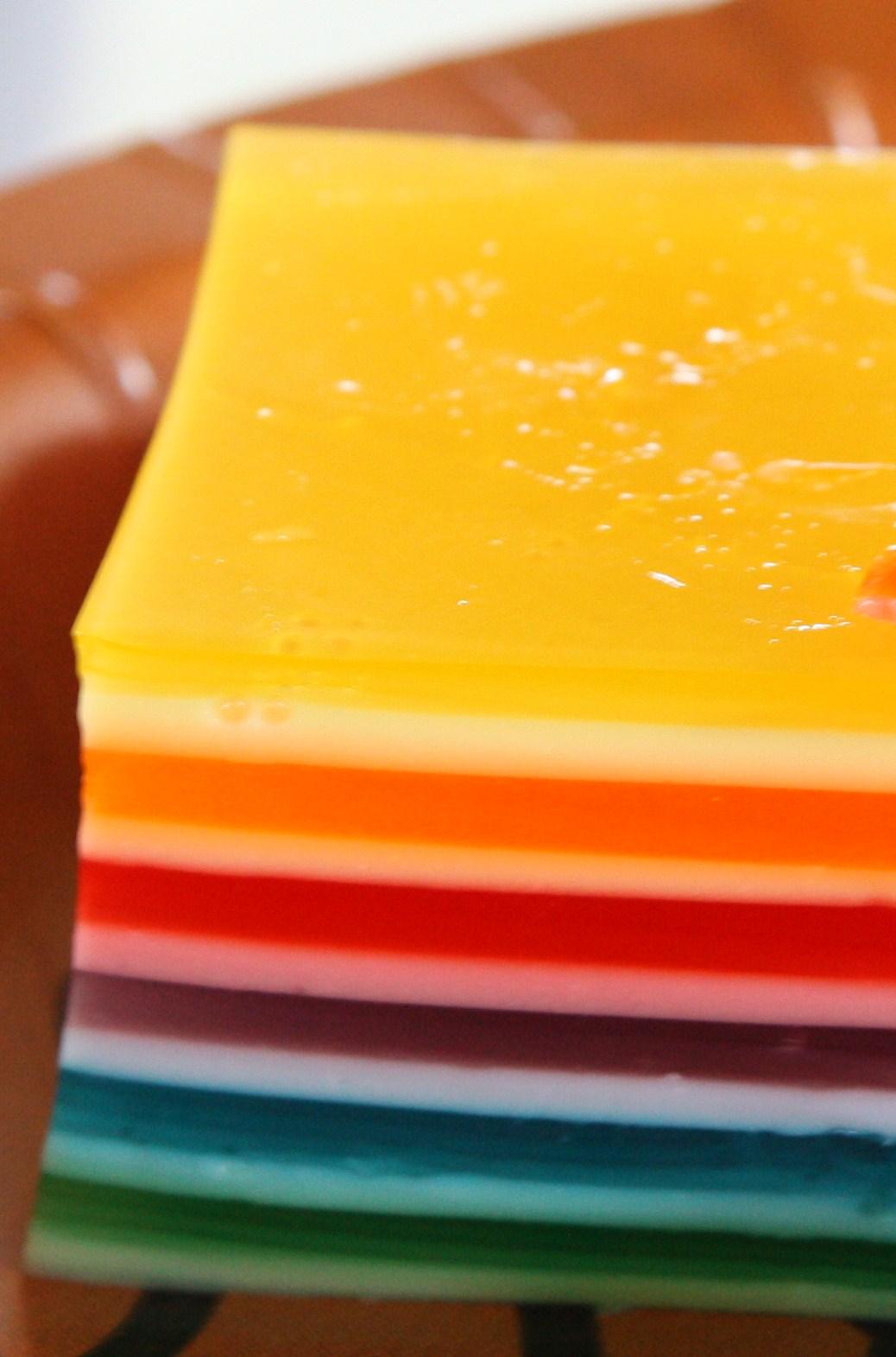 Molly Crocker Cooking Rainbow 12Layer Jello