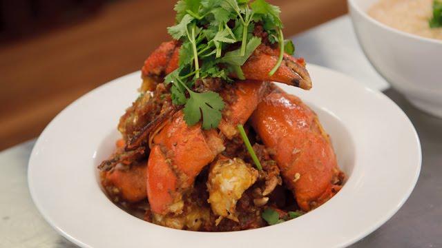 Chilli Mud Crab with Xo Sauce Xo Crabs