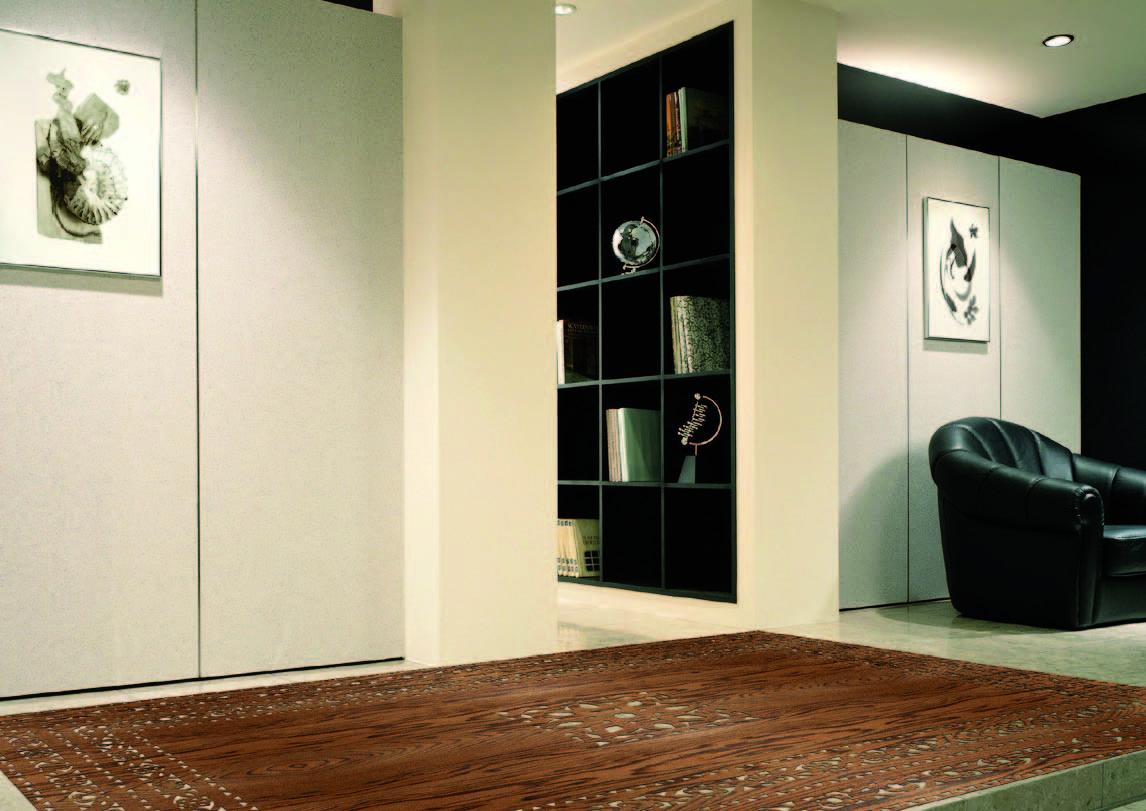 Gemdesign dise o de colecci n de separadores de ambiente y alfombras troqueladas - Separadores de ambientes originales ...