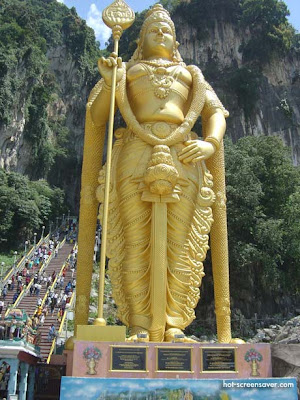 malaysia temple murugan photo