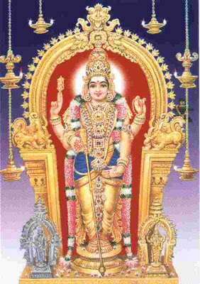 lord murugan from tiruchendur temple