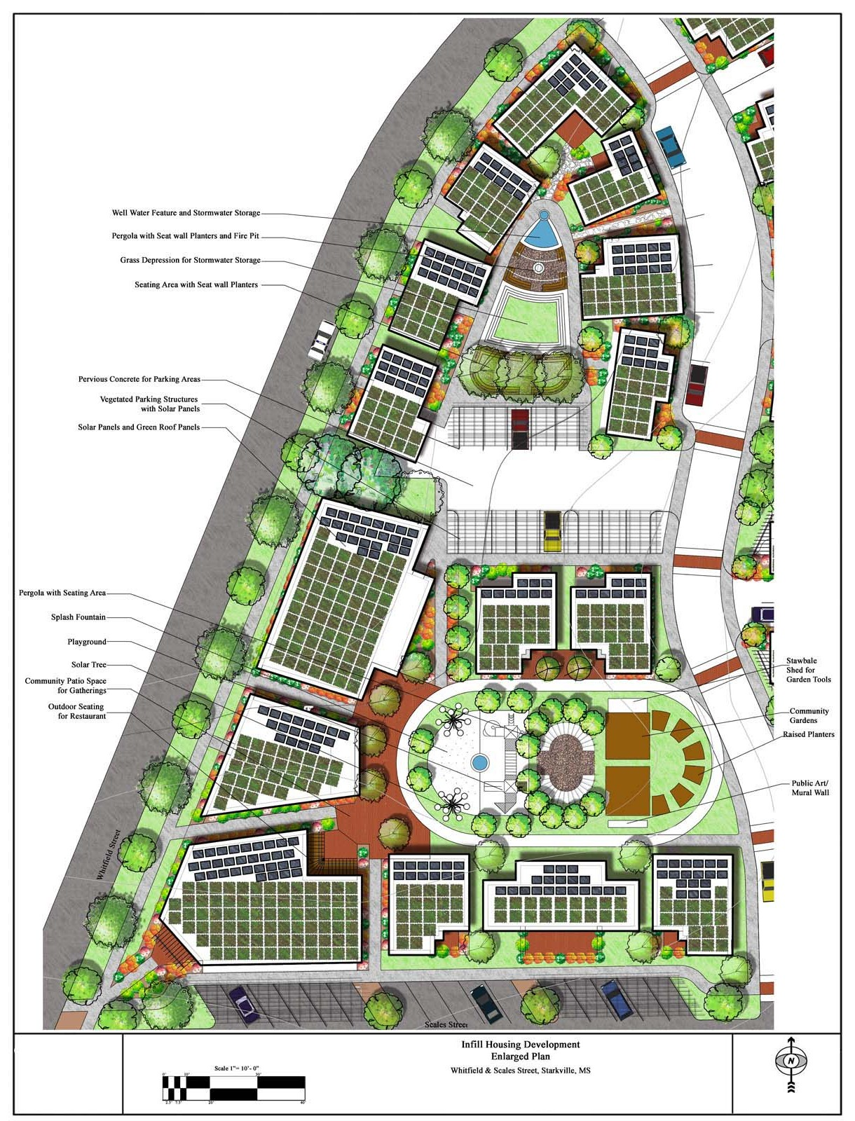 Landscape Architecture Enlarged Master Plan