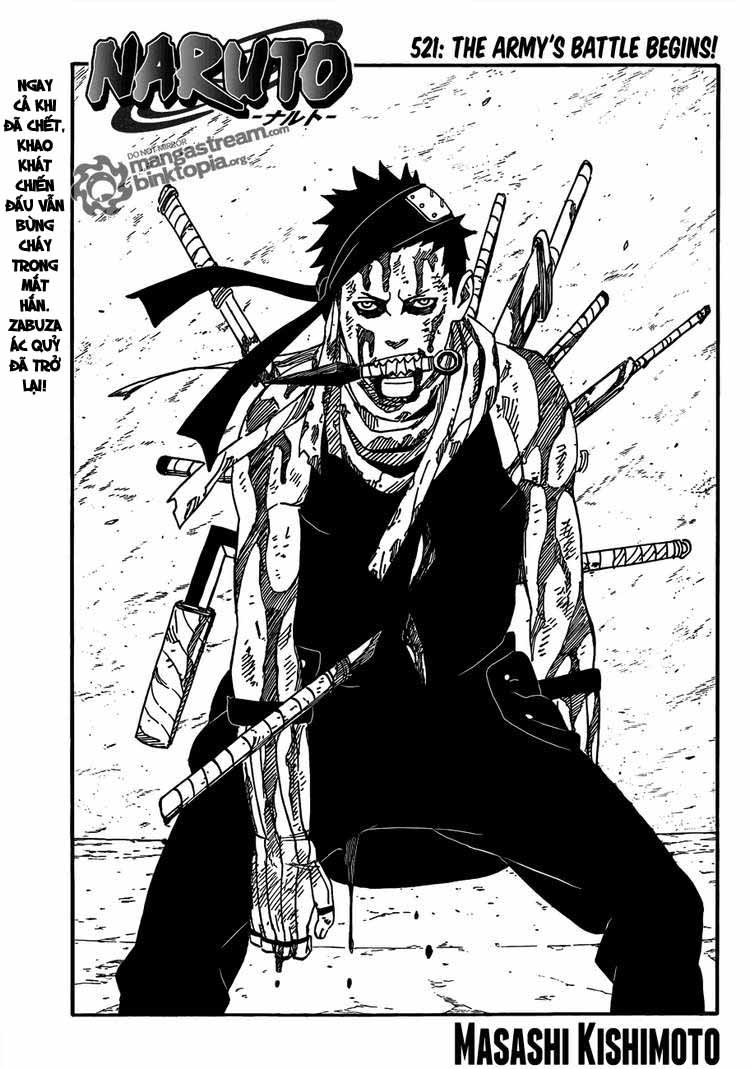 Naruto - Chapter 521 - Pic 1