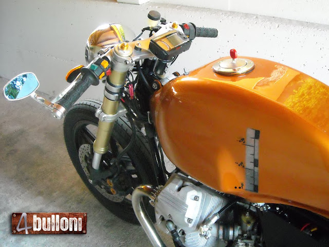 4 bulloni Moto Guzzi Cafe Racer
