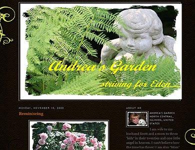 Andrea's Garden, Illinois Garden Blogger