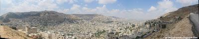 مدينة نابلس الفلسطينية