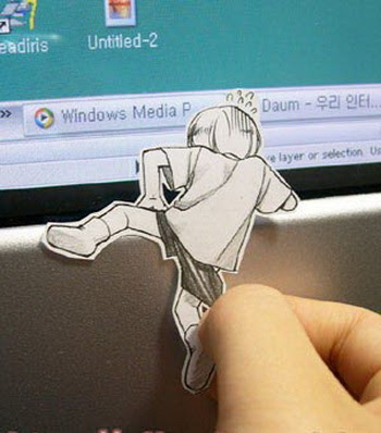 funny paper art