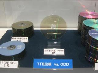 أقراص ضوئية بسعة 1 تيرابيت من انتاج شركة TDK