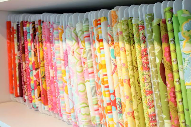 Treasures for tots diy fabric organizers for Fabric storage