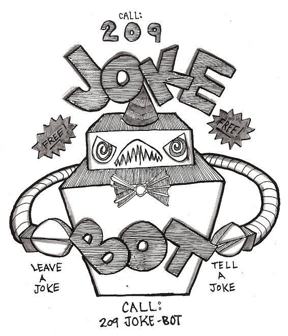 Jokebot: music and jokes podcast. submit a joke, call 209 joke bot