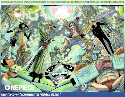 One Piece 609 Manga