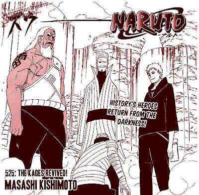 NARUTO 525 NARUTO MANGA