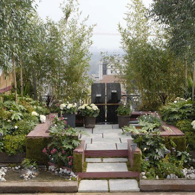 Easy bonbon garden inspiration from marie claire maison - Amenagement petit jardin de ville ...