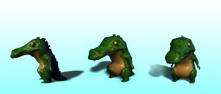 Crocodile Animation