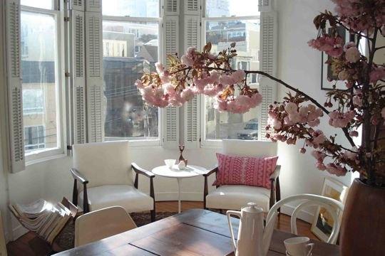 Margrit\'s Blog: Romantische woonkamer