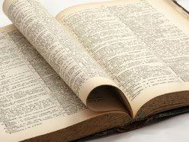 Le dictionnaire revisité.