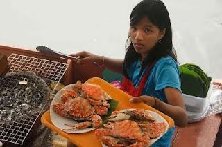 Bangkok: marché flottant