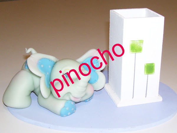 elefante porta lapices