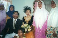 Bersama emak saudara