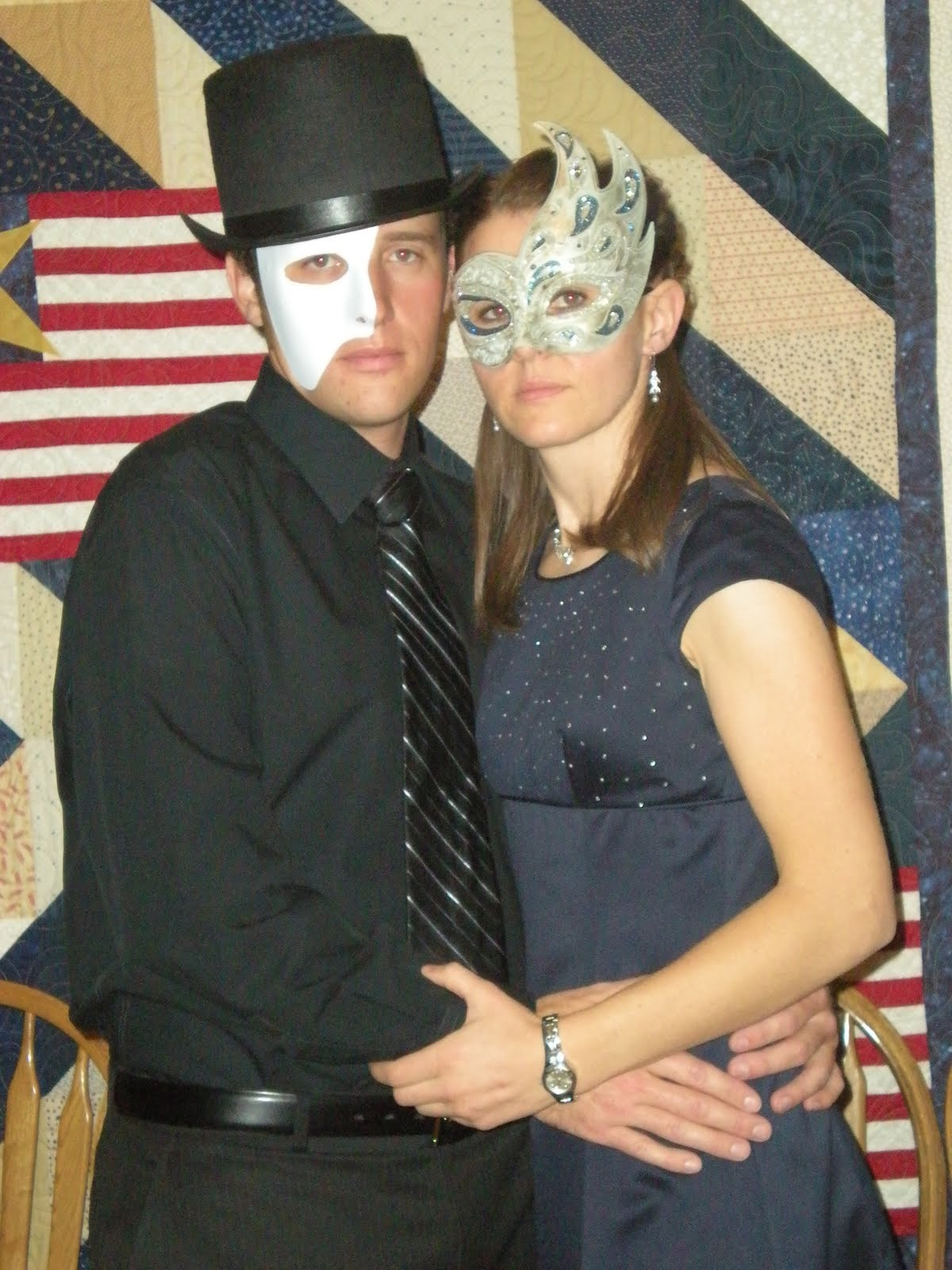 Dress up for masquerade party - We All Were Able To Dress Up In Our Best Wear Masks And Dance Like Crazy I Was Working A Flight Down To New Orleans The Day Before The Party And Was