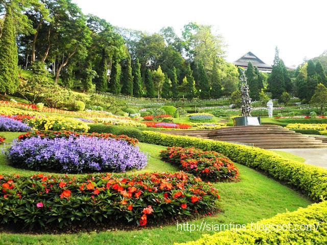 สวนแม่ฟ้าหลวง สถานที่ท่องเที่ยว