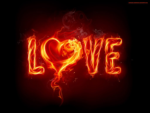 Hotness Of Love Wallpaper